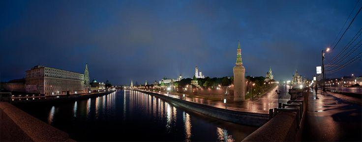 Moscow by Evgeniy Nesvetaev on 500px