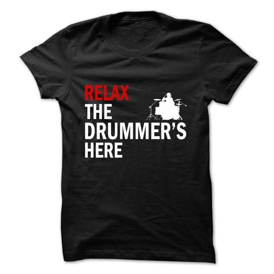 Drummers Here  - #tshirt inspiration #sweatshirt refashion. CHEAP PRICE => https://www.sunfrog.com/No-Category/Drummers-Here-.html?68278