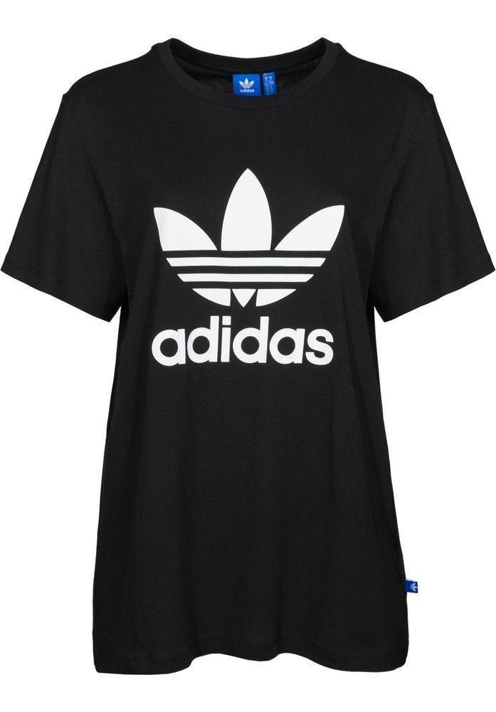 adidas Boyfriend-Trefoil - titus-shop.com #TShirt #FemaleClothing #titus