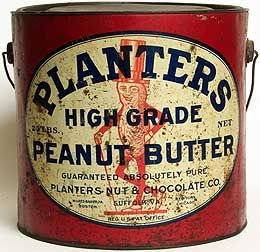 Planters Peanut Butter.