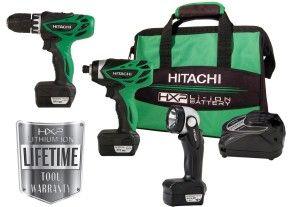 Hitachi KC10DFL 12-Volt Peak 3-Tool Li-Ion Combo Kit Review http://toolcrunch.com/hitachi-kc10dfl-12-volt-peak-3-tool-li-ion-combo-kit-review/