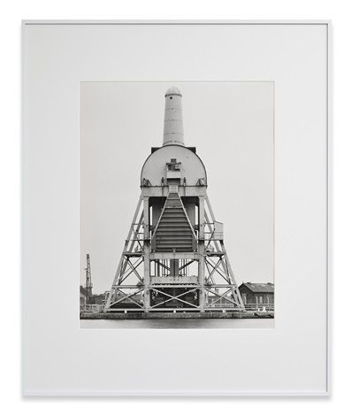Tom Pudding Hoist, Goole, GB by Bernd and Hilla Becher