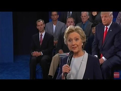 Second Presidential Debate 2016 Full : Hillary Clinton and Donald Trump ...