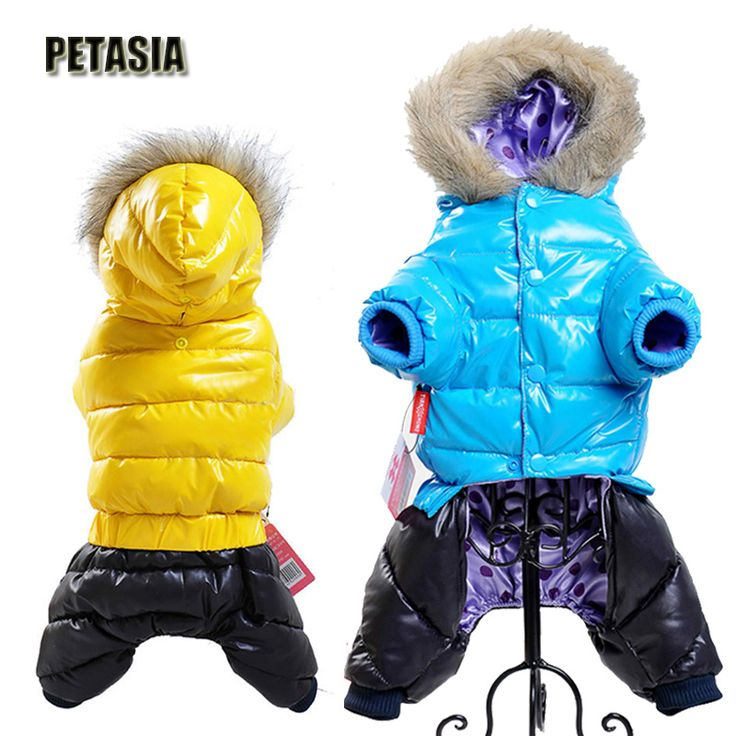 Hot Sale Winter Pet Dog Clothes Super Warm Down Jacket For Small Dogs Waterproof Dog Coat Thicker Cotton Hoodies For Chihuahua  Price: 13.17 USD