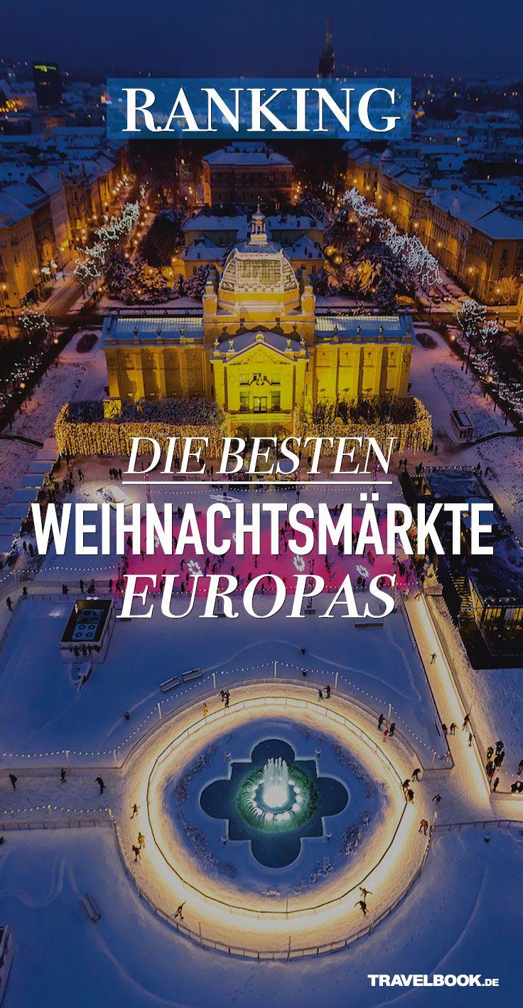 """Die Ranking-Website """"European Best Destinations"""" hat in einer großen Online-Umfrage darüber abstimmen lassen, welche die 20 schönsten Weihnachtsmärkte Europas sind. Der erste deutsche Weihnachtsmarkt findet sich erst auf Platz 7. Das ganze Ranking im Überblick."""
