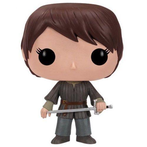 """Arya Stark est l'un des personnages principaux des romans """"A Song Of Ice And Fire"""" et de la série """"Game of thrones"""". Arya est la plus jeune des filles de Catelyn et Ned Stark,..."""