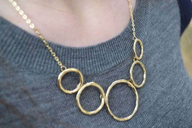 Love this necklace (and would love to see it in my next stitch fix) - Breyson Open Circle Necklace - Stitch Fix item