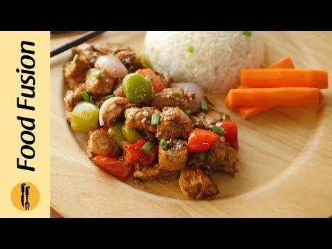 Black Pepper Chicken Recipe By Food Fusion Youtube Food