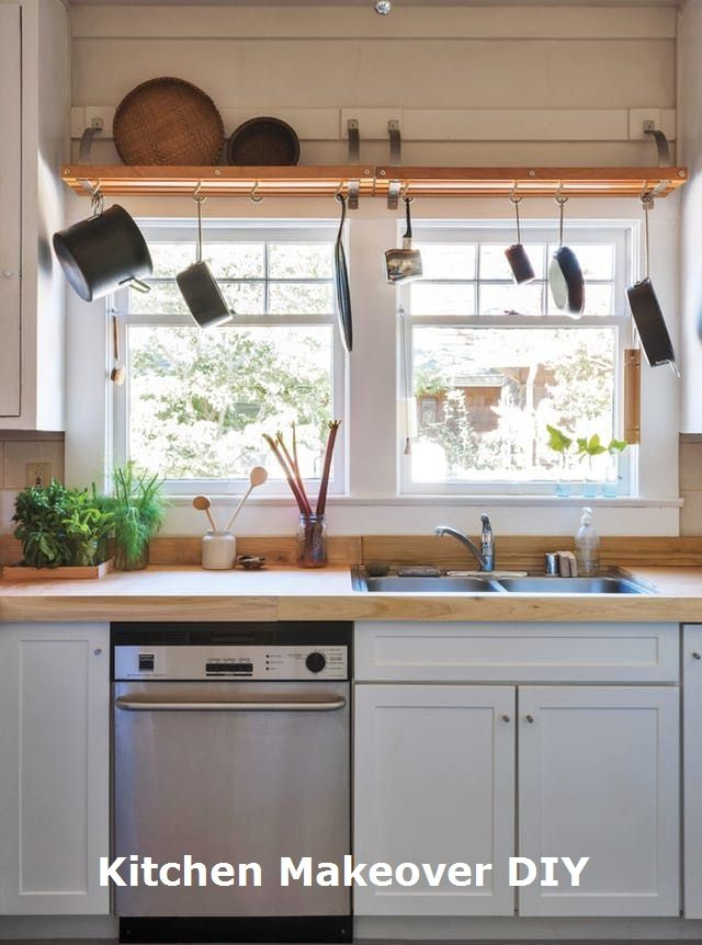 Easy And Cheap Kitchen Makeover Diy Ideas On A Budget Makeover