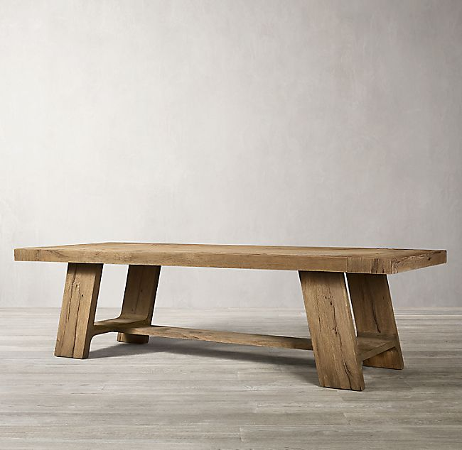 Davos Oak Rectangular Extension Dining Table In 2020 Extension