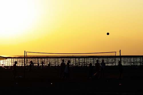 Side beach volley