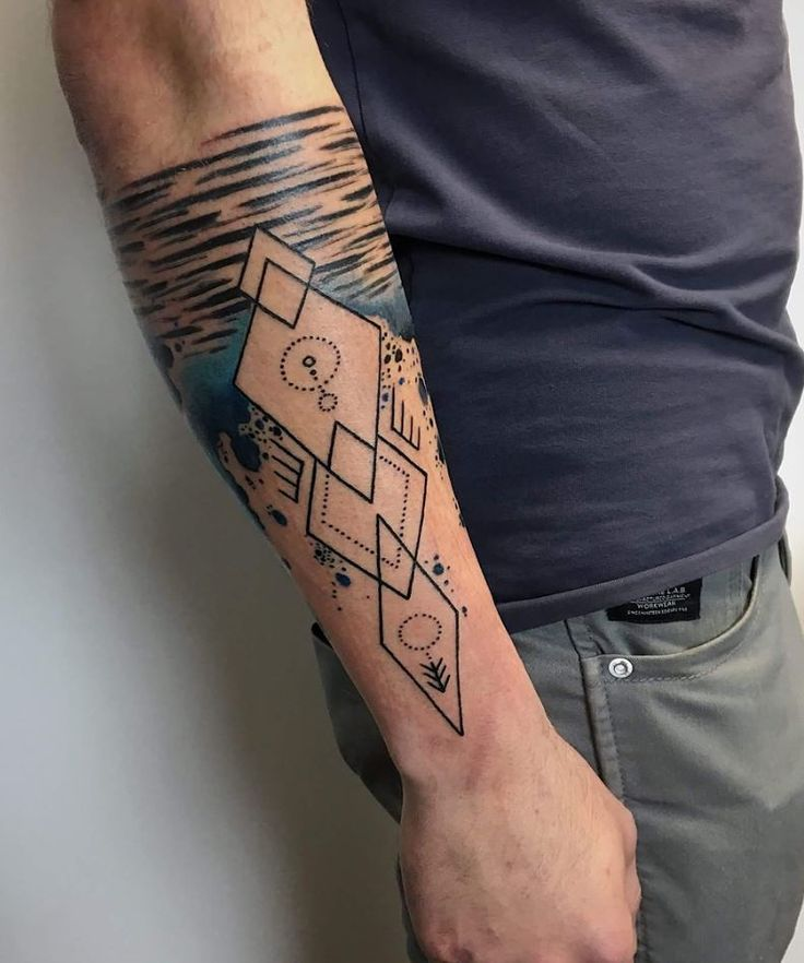 Awesome Lower Arm Tattoo