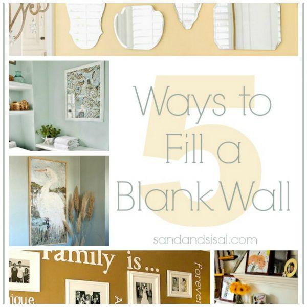 fill up blank walls