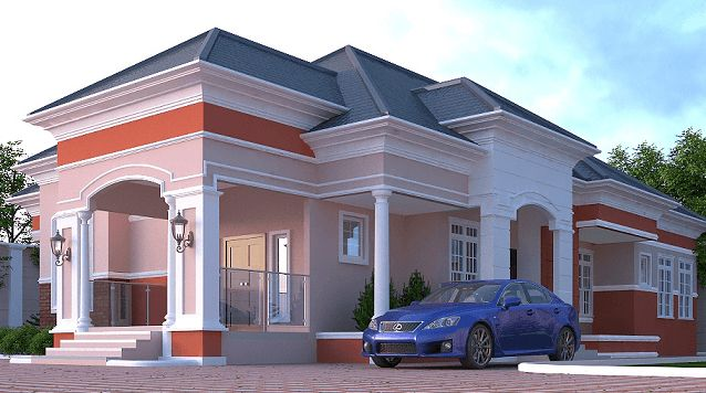 Cost Of Building A Four Bedroom Bungalow From Foundation: Cost Of Building A 4-Bedroom Bungalow In Nigeria (2020) In