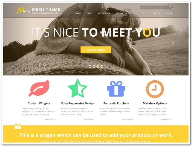 22 best Best Free Wordpress Theme Collection images on Pinterest ...