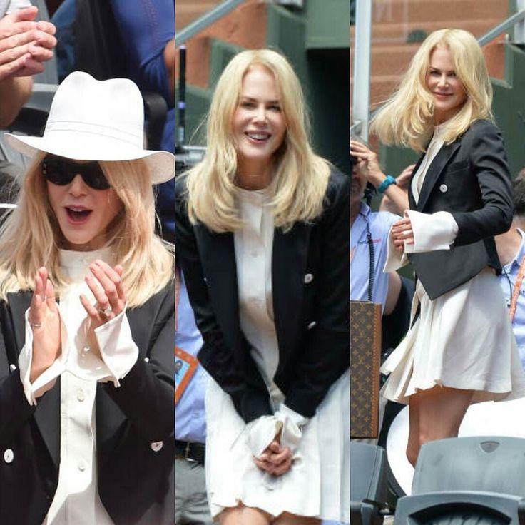 11 juin 2017 : Nicole Kidman à Roland Garros #actress #nicolekidman #biglittlelies #rolandgarros
