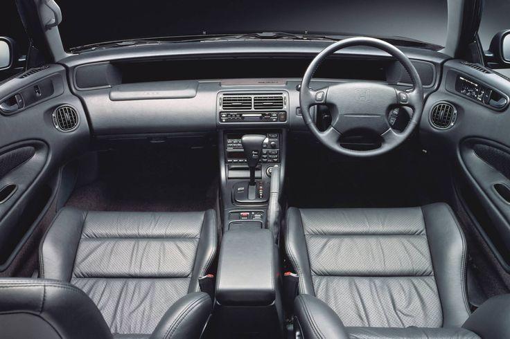 1993 Honda Prelude interior