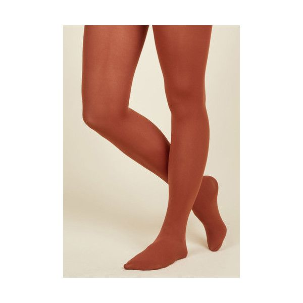 Vintage Inspired Accent Your Ensemble Tights ($13) ❤ liked on Polyvore featuring intimates, hosiery, tights, foundation, full-length tight, orange, tight, opaque stockings, orange tights and orange stockings