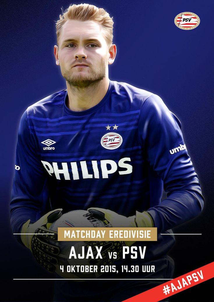 MATCHDAY! Vandaag de topper tegen Ajax. Vorig seizoen werd het 1-3 in de ArenA. Wat wordt het vandaag? #ajapsv
