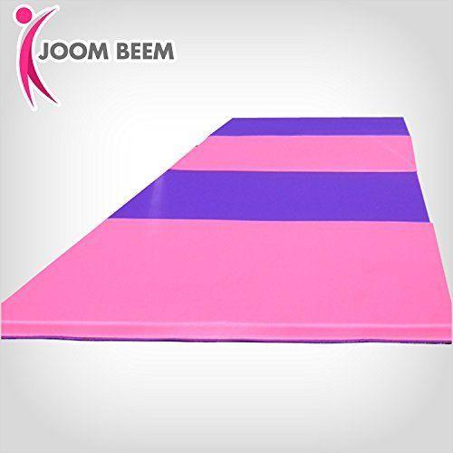 joom beem gymnastics mat 8x4ft tumbling mat pink u0026 purple http