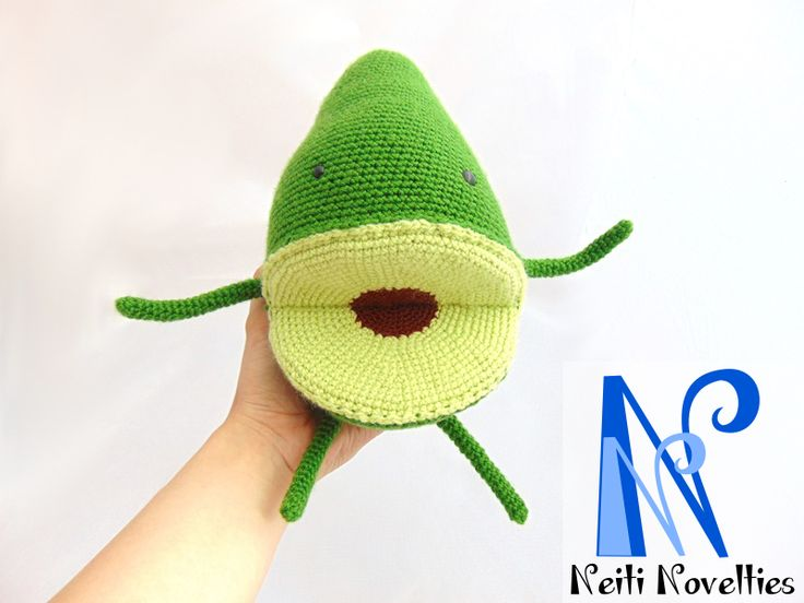 Crochet Avocado... no question asked ;)