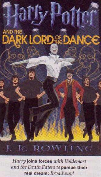"""Dance, dance, wherever you may be, """"I am Lord Voldemort"""" said he!"""