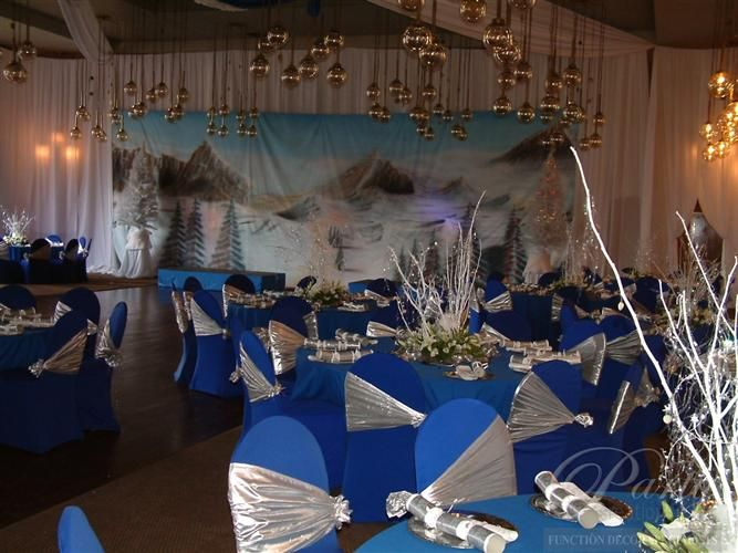 17 best images about winter wonderland party ideas on for Winter dance decorations