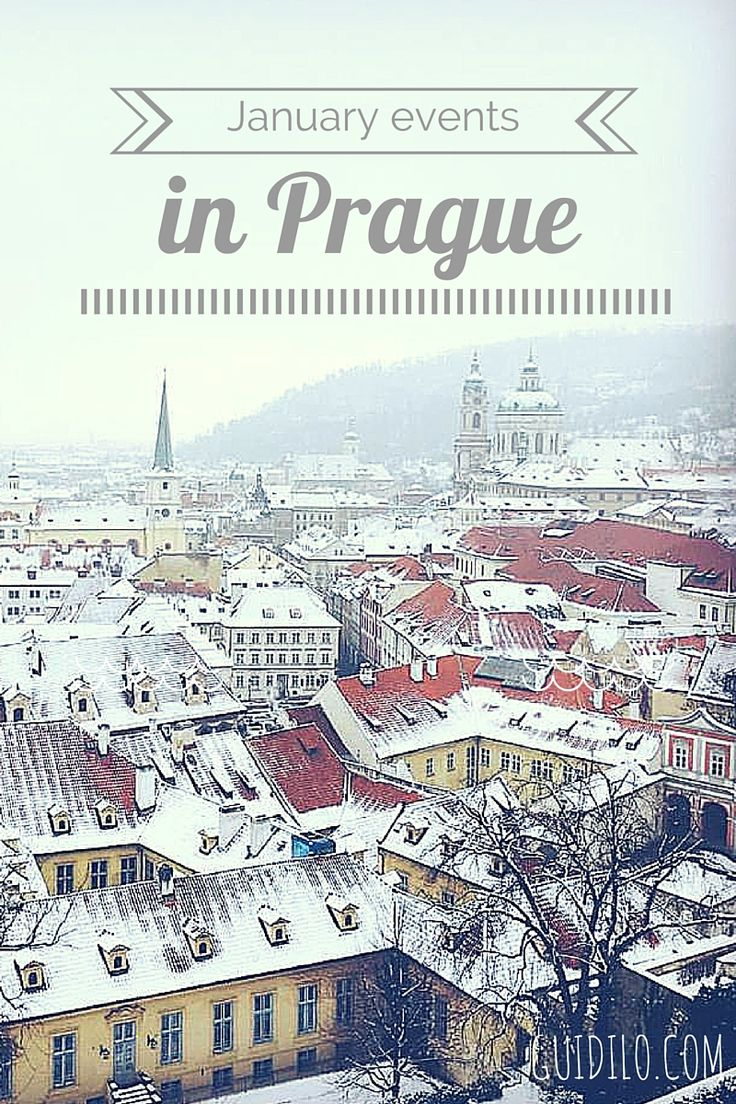 January Events in Prague