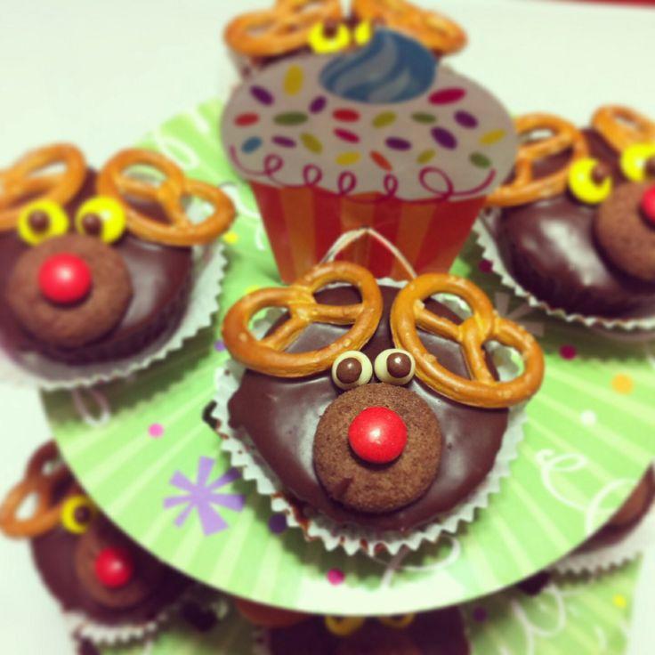Christmas cupcakes!!!