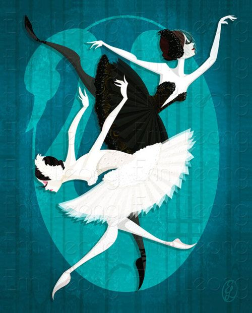 Miclavelverde swan lake odette and odile earth art