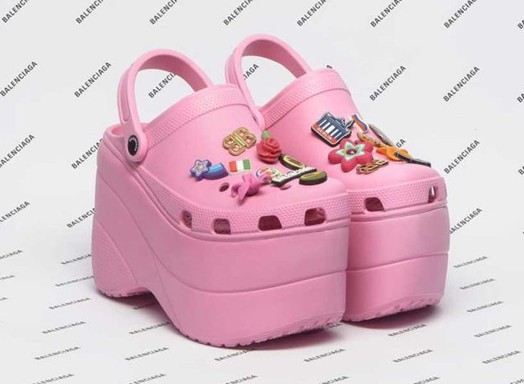 balenciaga platform crocs available for pre-order but SOLD OUT | Netfloor USA