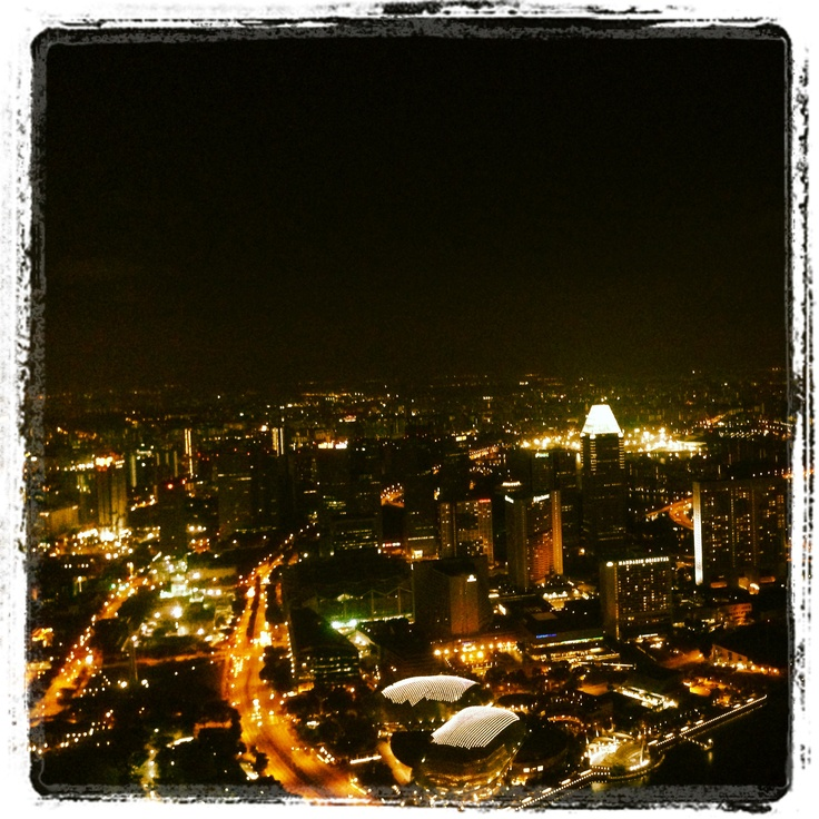 Singapore view from One Altitude