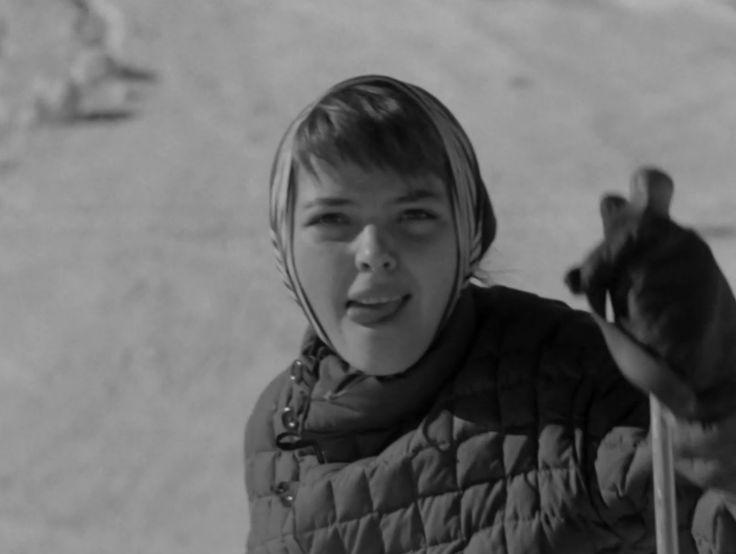 Barbara Kwiatkowska-Lassin Zakopane 1959.