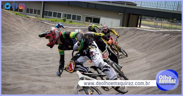 Atleta eusebiense é o primeiro colocado na 1ª etapa do Campeonato Cearense de Bicicross
