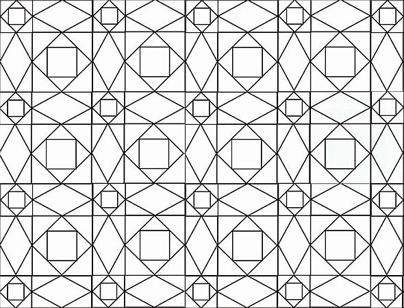 Free Printable Quilt Block Coloring Pages Sketch Page