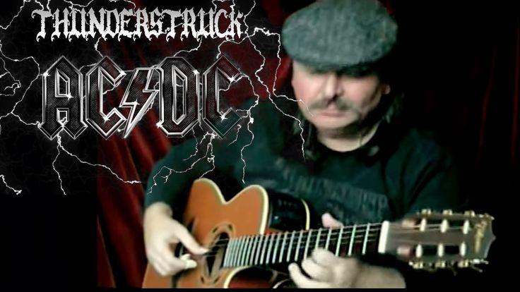 Thundеrstruсk (АС/DС) - Igor Presnyakov - acoustic fingerstyle guitar