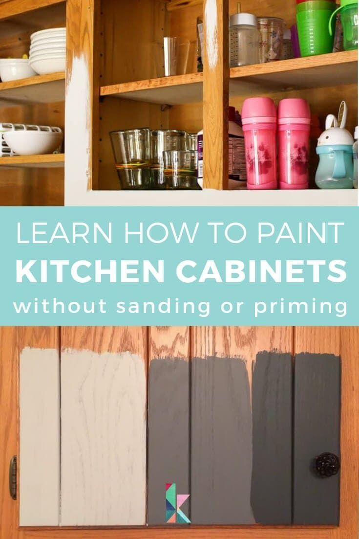 How To Paint Kitchen Cabinets Without Sanding Or Priming Step By Step In 2020 Painting Kitchen Cabinets Kitchen Cabinets Before And After Kitchen Paint,Luxury Studio Apartments Decor Ideas