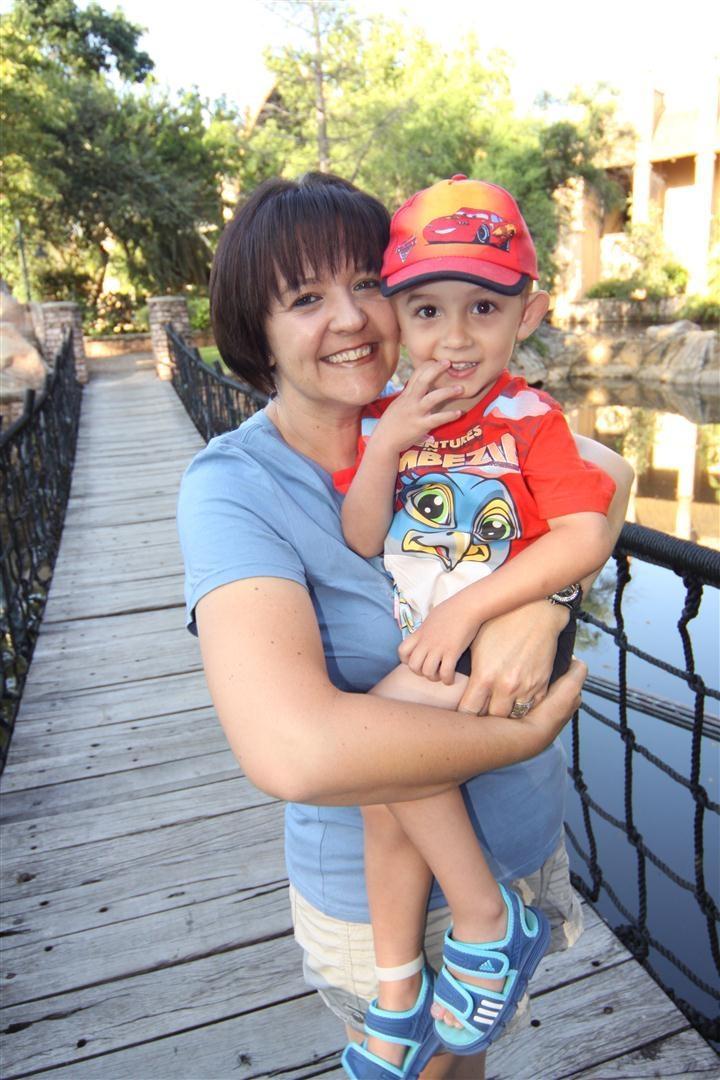 Matthew and my Mom Ursheline.