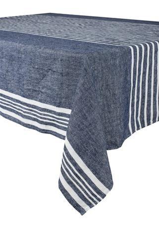 6 coloris disponibles - Harmony - Nappe en lin lavé Linea - 100% lin lavé stone wash - Home Beddings and Curtains