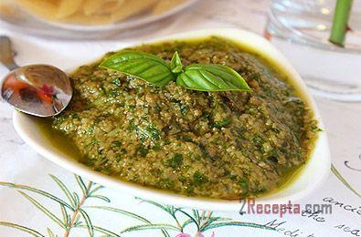 Итальянский соус Песто