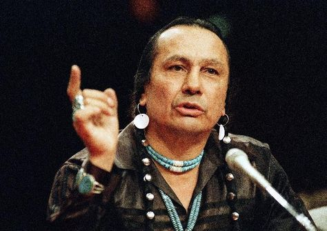 Russell Means, Indian activist, actor, dies at 72 - Born 11-10-39/ His father and he were the leaders that held the occupation of Alcatraz and got things legally done to benefit tribal issues.
