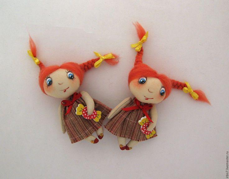Купить Брошки-конфетки - комбинированный, конфеты, конфетка, конфета, куколка на счастье, куколка в подарок