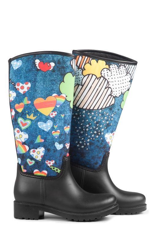 Uzun Yağmur Çizmesi - Bluely | Nemoda.com.tr