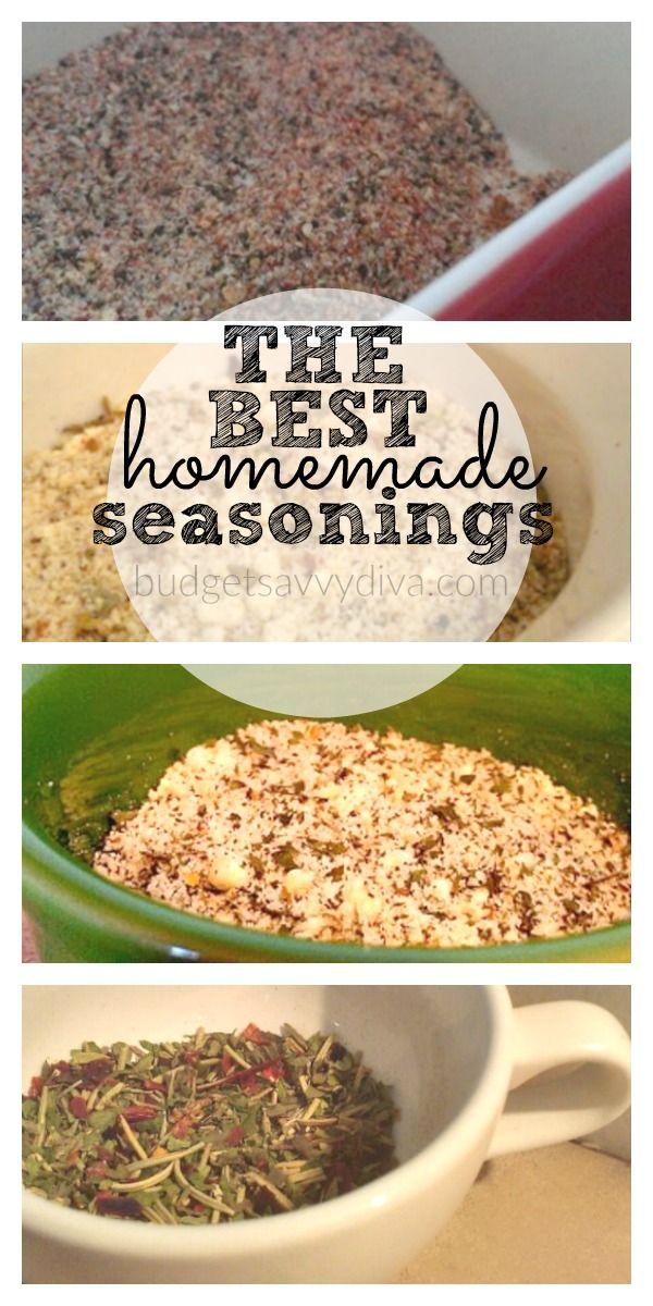 Top 10 Homemade Seasonings