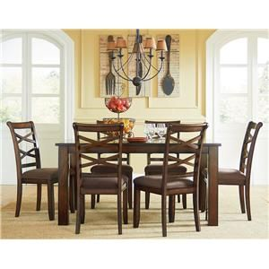 Standard Furniture Redondo Casual Transitional Dining Set Coming In December