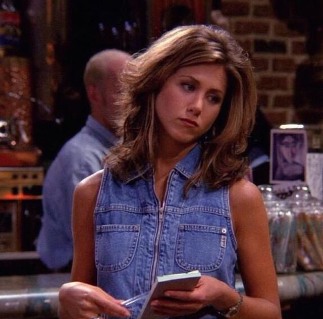 Rachel green. Jennifer Aniston young