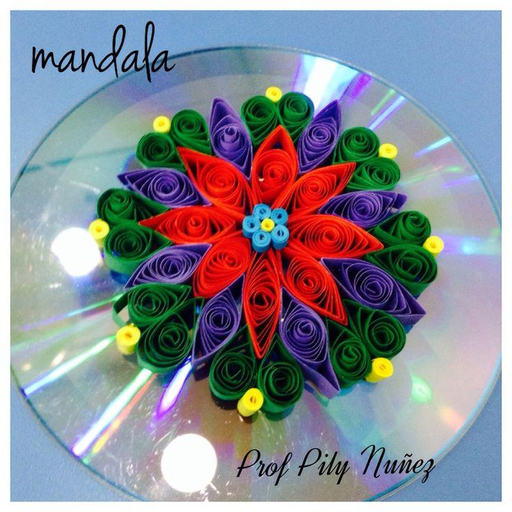 Mandala taller de la prof Pily Nuñez
