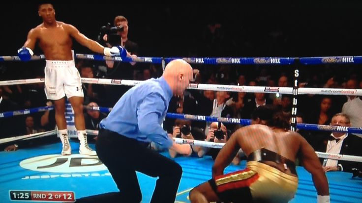 Sky: Anthony Joshua vs Charles Martin Full Fight   BRUTAL POWER KO Sho: ...