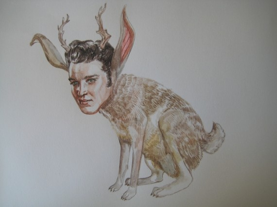 ... in this manner. My uncle had a stuffed jackalope.' Good to know