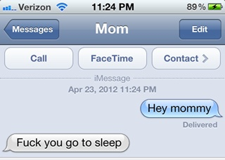 Funny iPhone texts, text messages, sms jokes for iPhone